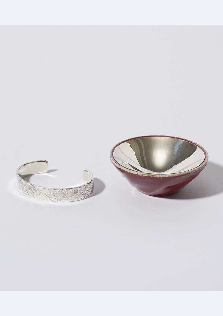 Ginki Bangle / Ginki Shigaraki Earthenware