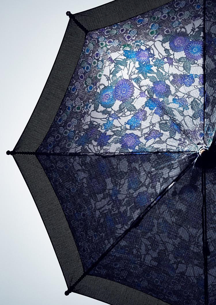 Stencil-dyed Parasol