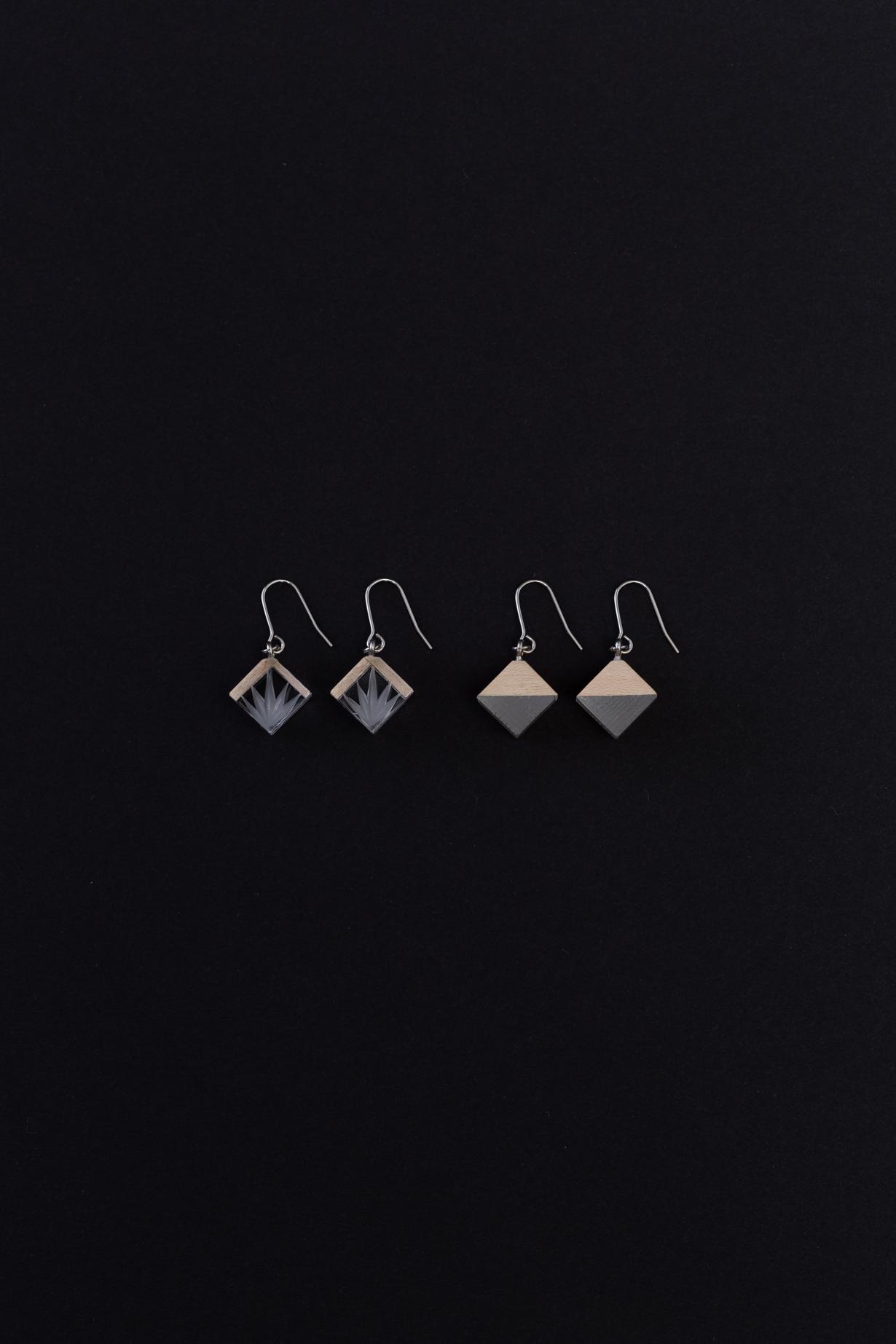 KITOKIRIKO Earrings(bamboo leaves&Nanako)
