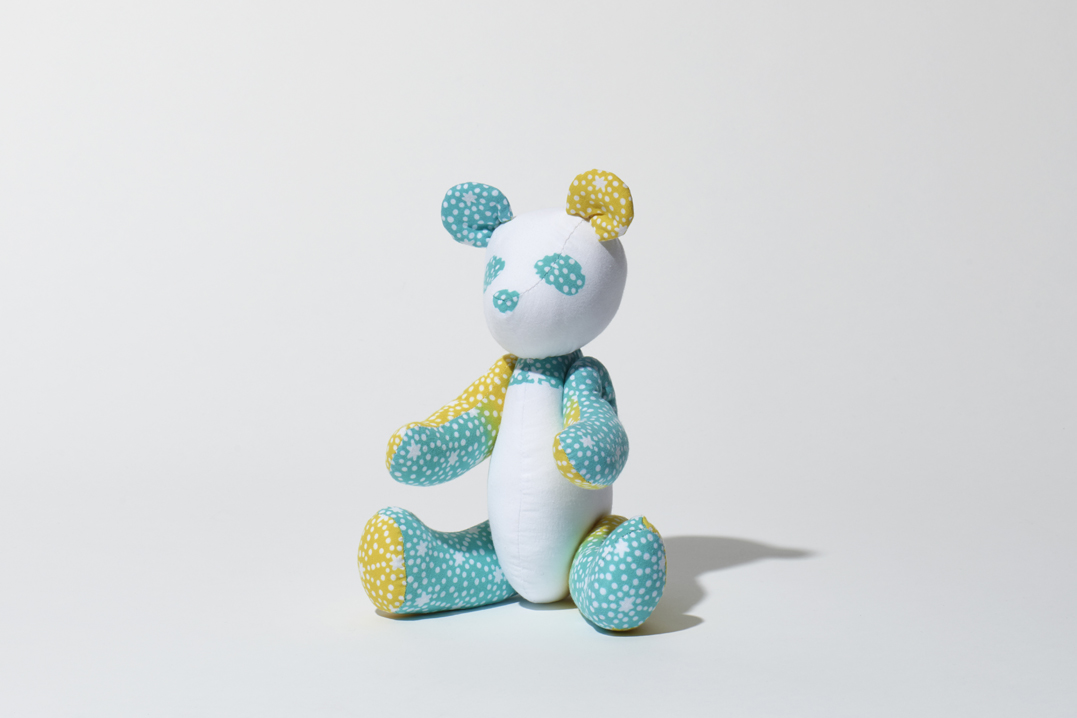 Panda ( Light blue × yellow)