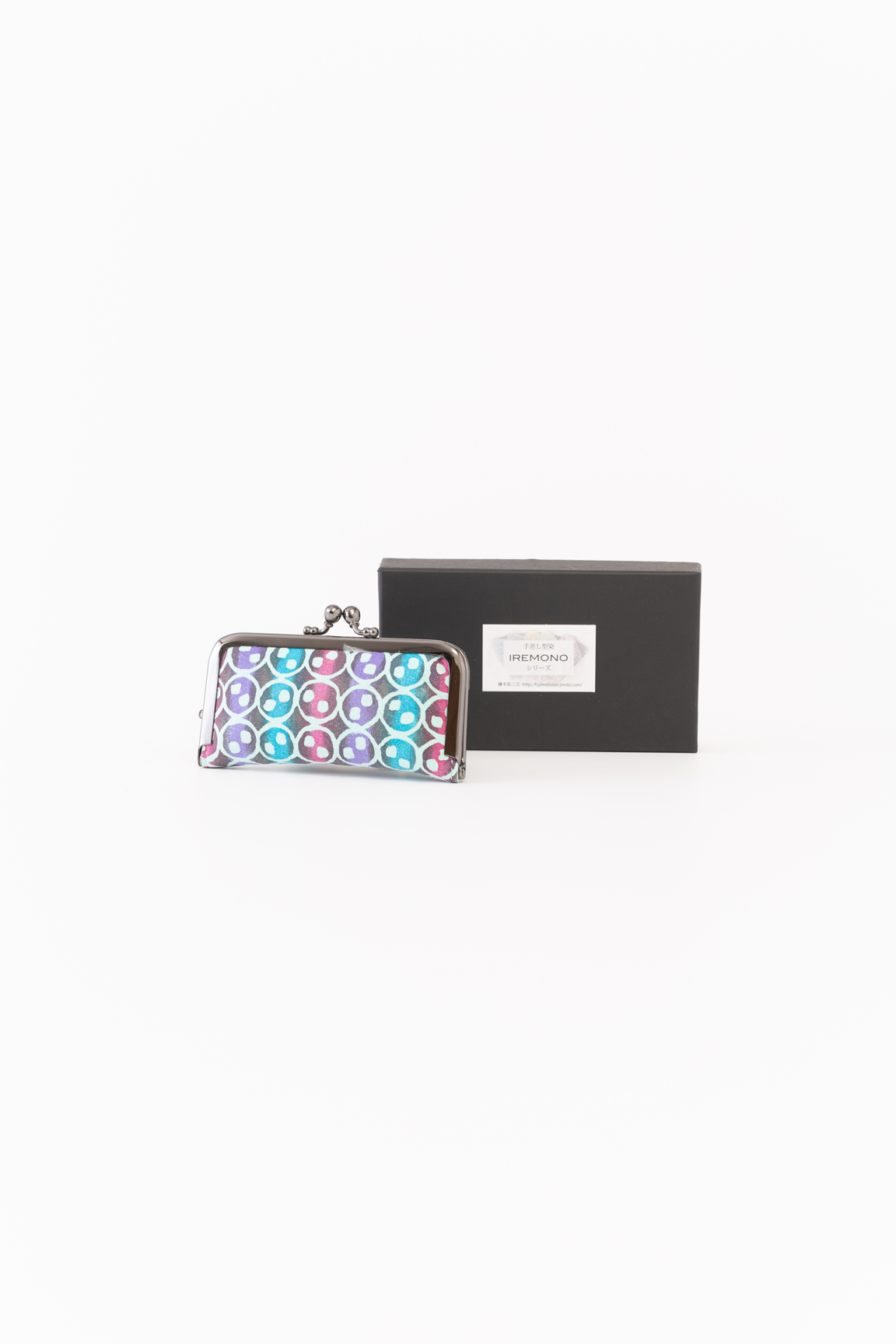 Name stamp case(blue)&box