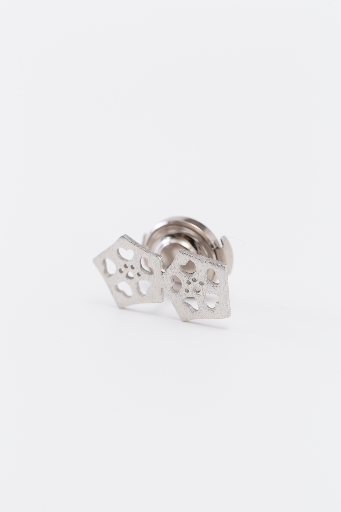Okra_pad pin broach(silver) (2Okra)