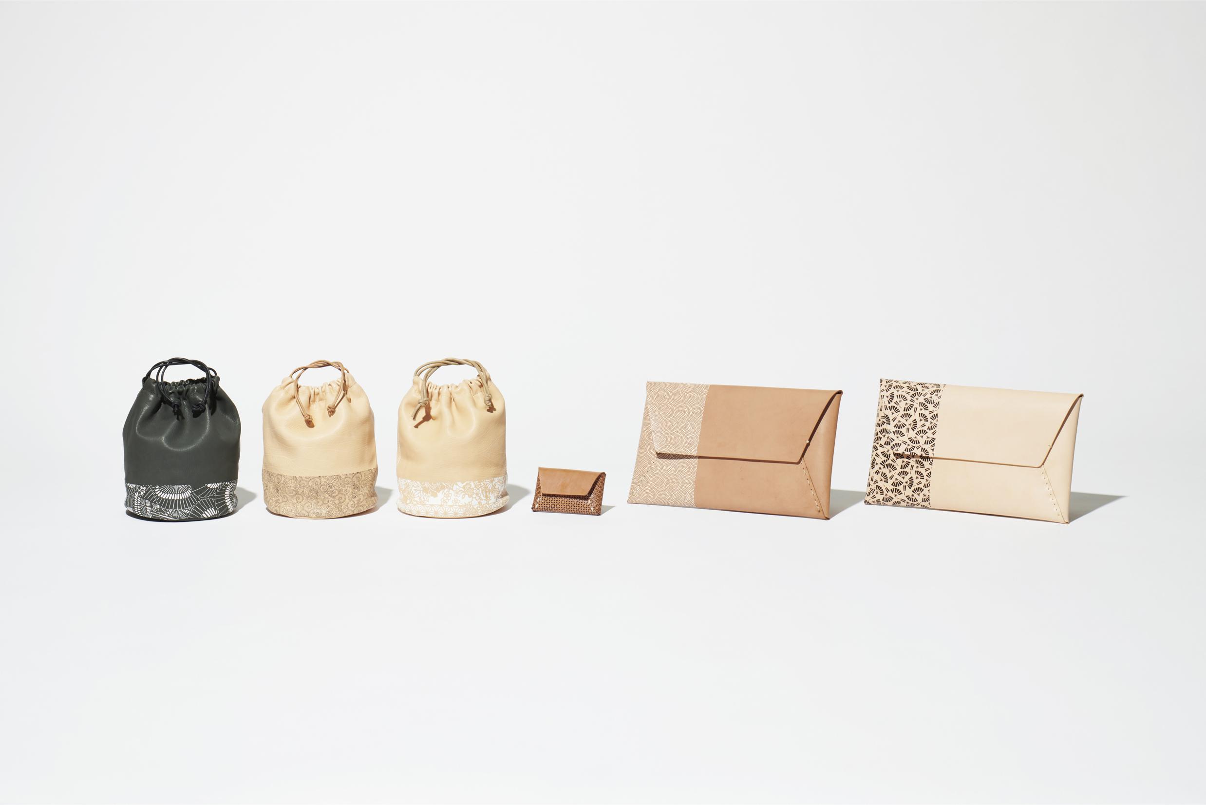 Edo Komon Leather Series