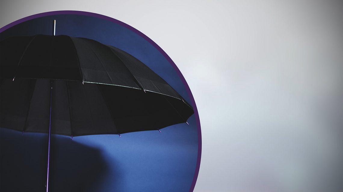 Light-weight 16-bone Color Titanium Umbrella