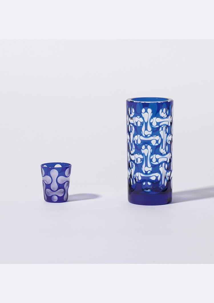 蒲田切子蒲田モダン水鏡 GUINOMI/蒲田切子蒲田モダン水鏡 花器