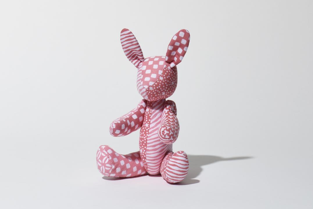 うさぎ(ピンク)人形