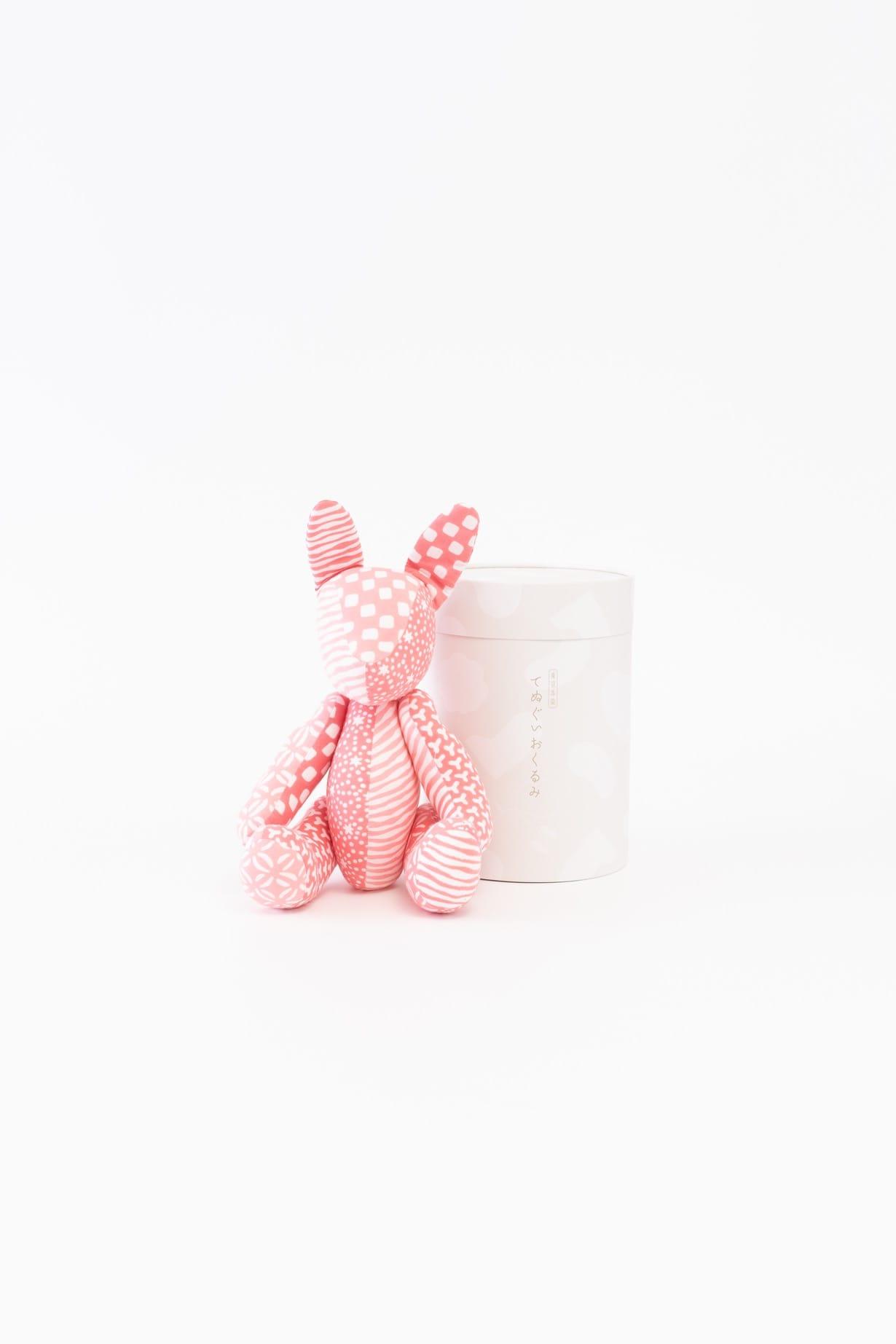 うさぎ(ピンク)人形 箱付