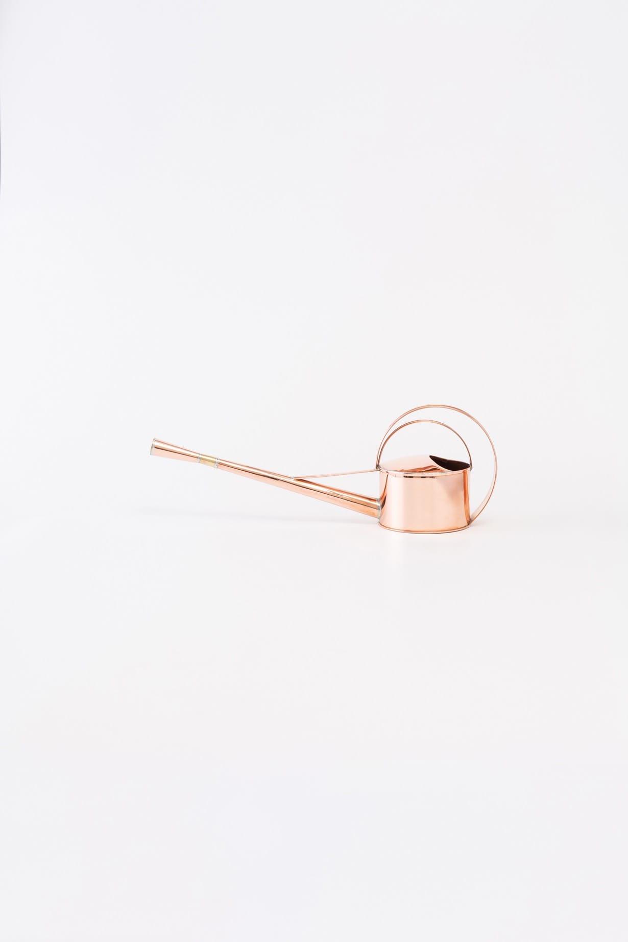 銅製タサ如雨露 真横