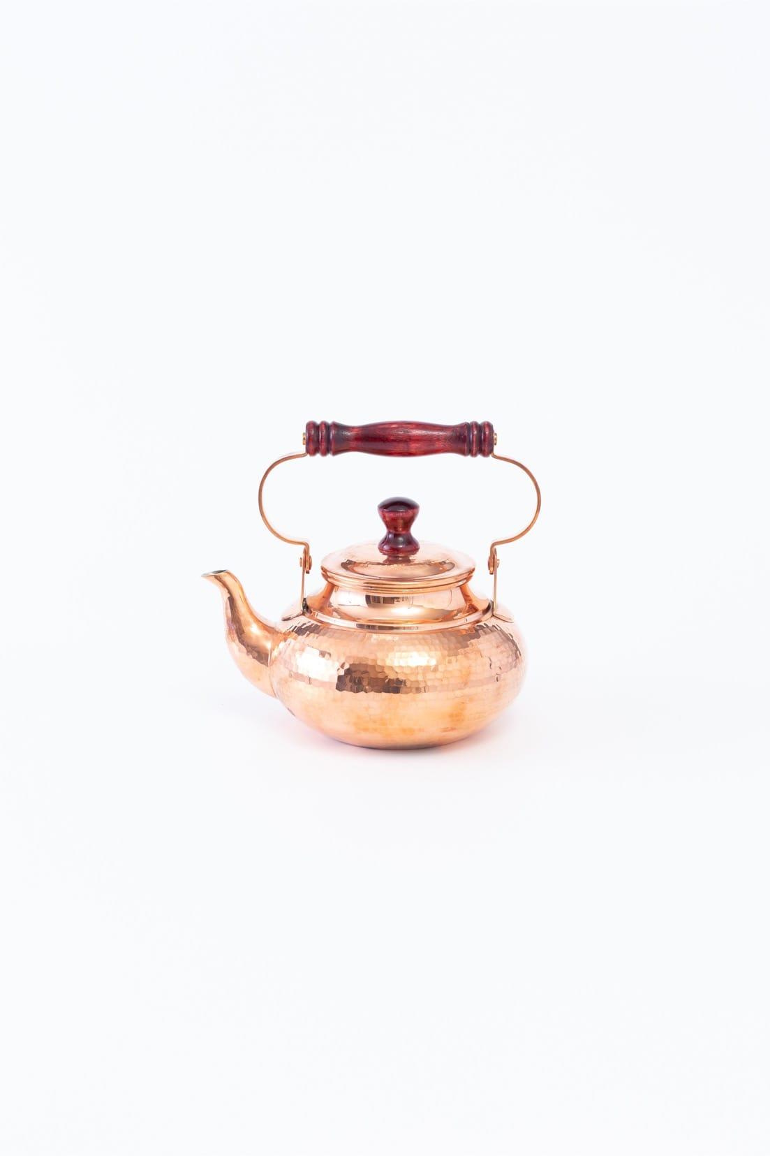 特選銅製ケトル(2L) 真横